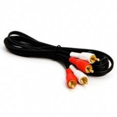 RCA M/M Red/White Audio Cable 2M