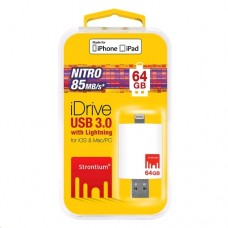 Strontium Nitro 64GB iDrive USB 3.0 Drive for iOS