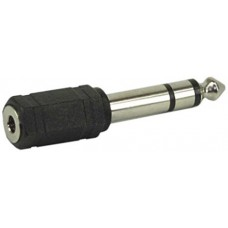 6.3mm/M to 3mm/F audio adapter