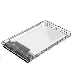 "Orico SATA USB3 2.5"" Transparent Enclosure Case"