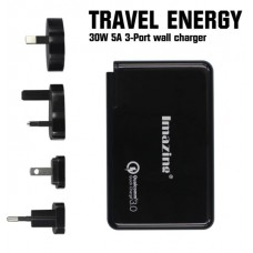 Imaizing Travel Energy 30W 5A 3-Port Wall Charger with Power Delivery Type-C