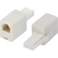British Telephone Plug BS6312(UK) Male To Rj11 Female Adapter
