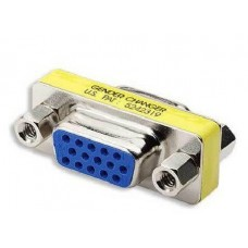 15 Pin VGA Coupler (VGA Female to Female) HD15 Female to HD15 Female Adapter