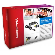 VideoHome GRABBEE-AV Hi-Speed Deluxe USB 2.0 Audio Video Adapter
