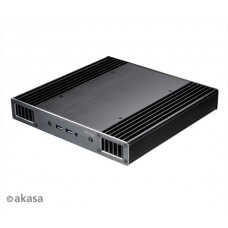 Akasa Plato X8 (A-NUC43-A1B / A-NUC43-M1B) Low Profile Fanless Case for 8th Generation Intel® NUC