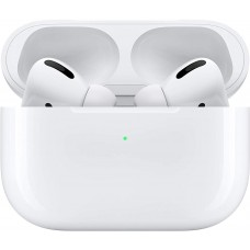AirPods Pro (MWP22ZM/A) Wireless Bluetooth Headphones with Wireless Charging Case