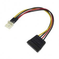 4-Pin Floppy FDD to SATA Power Converter Adapter Cable
