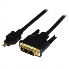 Micro HDMI/M to DVI/M Cable - 1.8m