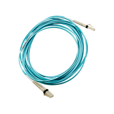 HPE AJ836A LC to LC Multi-mode OM3 2-Fiber 5.0m 1-Pack Fiber Optic Cable
