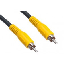 High Performance Single RCA Yellow Video Cable - 1.5m