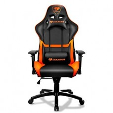 COUGAR Armor One Gaming Chair - Black and Orange color