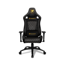 COUGAR Armor S Royal Gaming Chair - Black and Gold color