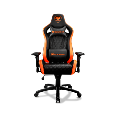 COUGAR Armor S Gaming Chair - Black and Orange color