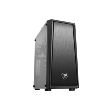 Cougar MX340 with Full Tempered Glass and USB 3.0 Gaming Mid Tower Case