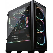 LogicPC Intel (ECA-SF30/600W/i7-10700/16GB/500GB/Nvidia2070Super/Win10Pro) Gaming Desktop PC