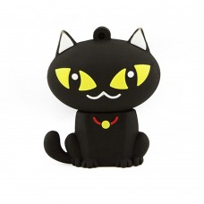 32GB Novelty Black Cat USB 2.0 Flash Drive Black
