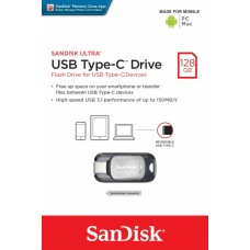 128GB Sandisk Ultra USB Type-C Drive (SDCZ450-128G-G46) USB 3.1 Flash Drive