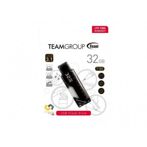 32GB TEAMGROUP T183 TT183332GF01 USB3.1 Magnetic Multi-Functional USB Flash Drive