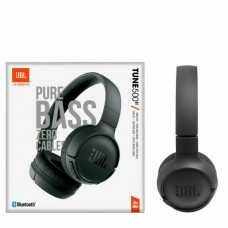 JBL Tune T500BT On-Ear Wireless Bluetooth Headphone - Black
