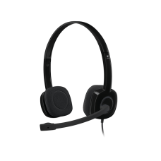 Logitech H151 Light weight and adjustable Stereo Headset