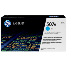 HP 507A Cyan Original LaserJet Toner Cartridge, CE401A