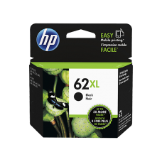 HP 62XL High Yield Black Original Ink Cartridge (~600 pages)