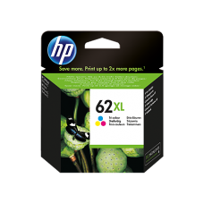 HP 62XL High Yield (C2P07AE) Tri-color Original Ink Cartridge (~415 pages)