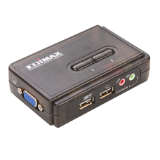 Edimax EK-UAK2 350MHz High Bandwidth 2 Ports USB KVM Switch