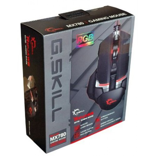 G SKILL RIPJAWS MX780 USB Wired RGB Laser Gaming Mouse