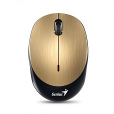 Genius NX-9000BT Wireless Bluetooth 4.0/Rechargeable Optical Mouse - Black/Gold
