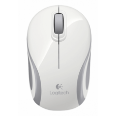 Logitech M187 2.4Ghz Wireless Mini White PC Mouse