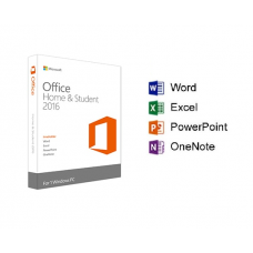 Microsoft Office 2016 Home And Student OEM Edition (Word, Excel, PowerPoint, OneNote)