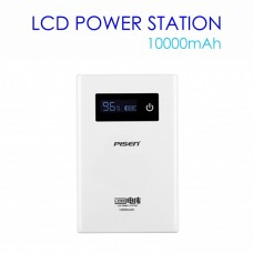 PISEN Power Station 10000mAh Power Bank with LCD