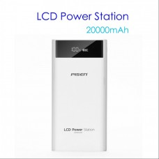 PISEN Power Station 20000mAh Power Bank with LCD