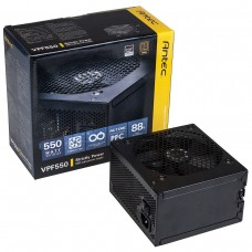 550W Antec VP550P ATX 12V V2.3 Active PFC Power Supply Unit