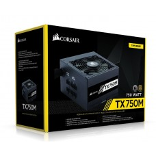 750W Corsair TX-M Series TX750M 80+ GOLD Modular Power Supply
