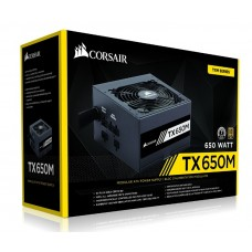 650W Corsair TX-M Series TX650M 80 Plus® Gold Certified PSU Power Supply