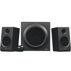 Logitech Z- 333 40W 2.1 Miltimedia Speaker System with Subwoofer + Wired control pod