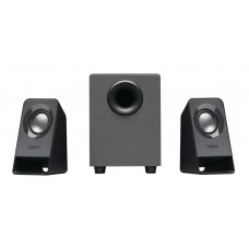 Logitech Z-211 7W 2.1 Black Compact USB Powered/3.5mm Speakers
