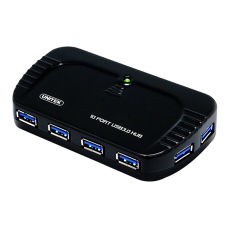 Unitek (Y-3112) USB3.0 SuperSpeed 10-Port Hub