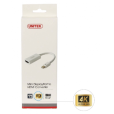 Unitek (Y-6331) Mini DisplayPort to HDMI Converter (Support 4K)