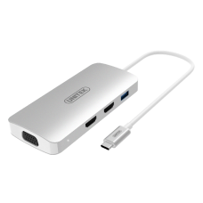 Unitek (Y-9116) USB3.1 Type-C Aluminium Multi-Port Hub with Power Delivery