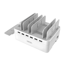 Unitek (Y-2181) 60W 6-Port USB Smart Charging Station