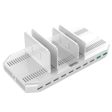 Unitek (Y-2190A) 96W 10-Port USB (with 2-Port QC3.0) Smart Charging Station