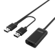 Unitek (Y-279) USB2.0 Active Extension Cable - 20m