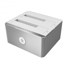 Unitek (Y-3027) USB3.1 Type-C to SATAIII Dual Bay Station
