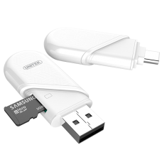 Unitek (Y-9323) USB3.0 Type-C/A Micro SD Card Reader