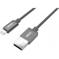 Unitek (Y-C499AGY) Apple Certified USB to Lightning Cable 1m - Gray