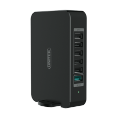 Unitek (Y-P535) 65W 6-Port USB (With 1-Port QC3.0) Smart Charging Station