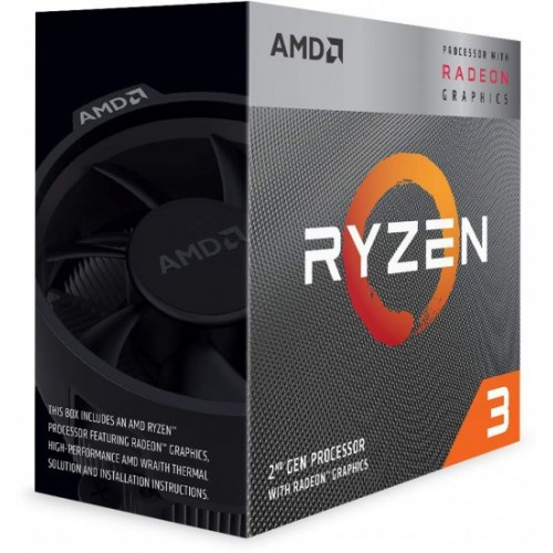 AMD Ryzen 3 3200G Quad Core 3.6GHz 2+4MB AM4 CPU Box